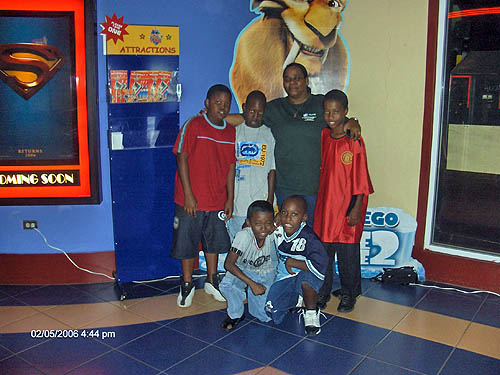 President of Tri-Miami International Chess Academy and the team. Copyright © 2006, Lesley-ann Nelson.