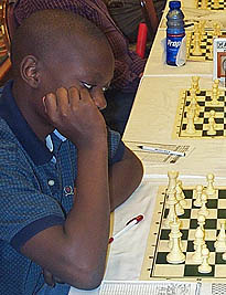 Tapiwa Gwaze at the 2006 U.S. Open