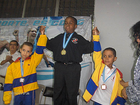 RONNIE NELSON Jr. Captures Gold at  The  Central  American's and Caribbean Chess Festival. 25-29th July 2007 -Guatemala, 3rd  CAC Chess Festival.