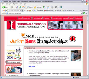 Trinidad & Tobago Chess Foundation, http://www.ttchess.com
