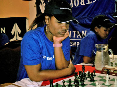 Tshepiso Lopang won her second consecutive title and laid rest to those who doubted her ability to win in the strongest possible field. Photo by Kenneth Boikhtuswane.