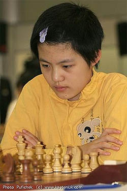 China's Hou Yifan