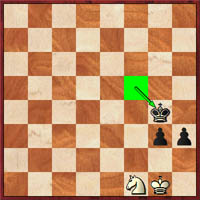 No. White played 61.Nxg3 and arrived at a stalemate after 61…Kxf3 62.Kh1 h2.