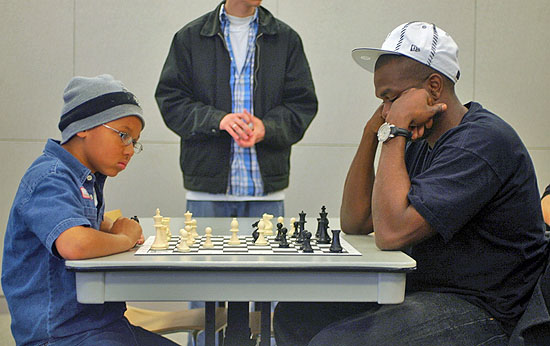 Eight-year old 'Zen Master' battling at the Hip-Hop tournament. Photo by Shaminder Dulai.