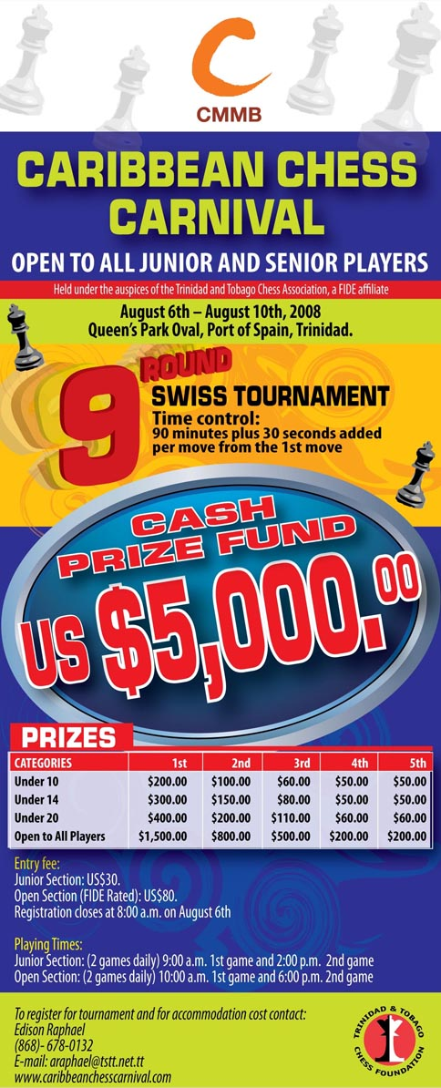 2008 CCMB Caribbean Chess Carnival