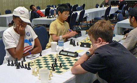 Adia Onyango, winner of u1400 at 2008 Cleveland Open.
