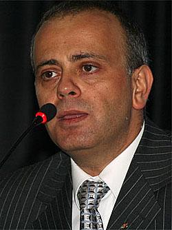 Ali Nihat Yazici, President of Turkish Chess Federation
