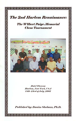 2001 Wilbert Paige Memorial Chess Tournament
