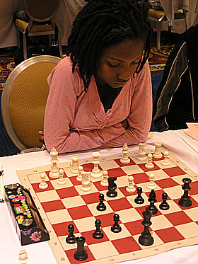 Darrian Robinson at 2009 World Open. Photo by Daaim Shabazz.