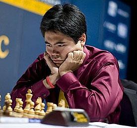 Hikaru Nakamura at Chess 960 Championship in Mainz, Germany.