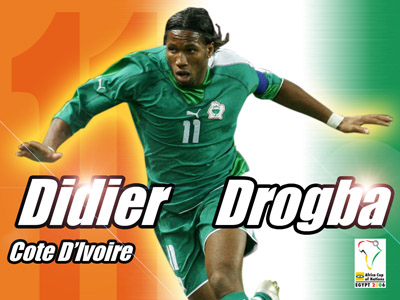 Didier Drogba, The Ivory Coast