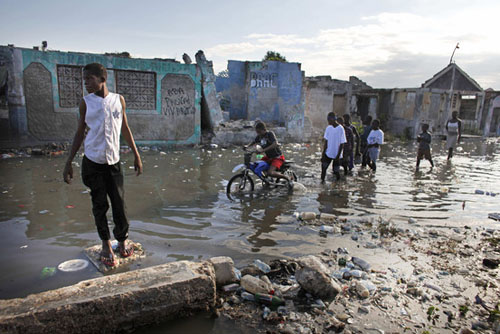 Flooding in Haiti