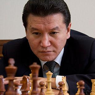Kirsan Ilyumzhinov et contactee