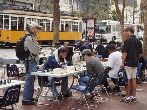 Market Street in San Francisco. Photo by cormac70.