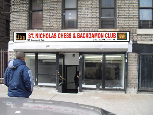 St. Nicholas Chess & Backgammon Club.