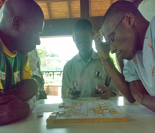 Shogi tournament in Cote d'Ivoire
