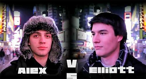 FM Alexander Barnett vs. FM Elliott Liu