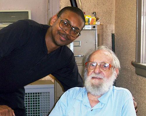 James Fagan with Thomas Fineberg