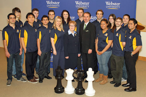 Webster University Chess Team, 2012