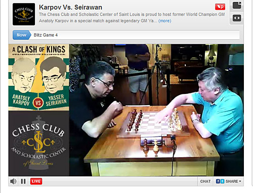 Legends Match (Seirawan vs. Karpov), 2012