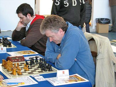 GM Viktor Moskalenko winning the strong Benidorm  Chess Festival in 2009