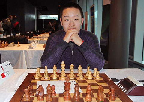 Wei Yi: The world's youngest GM.
