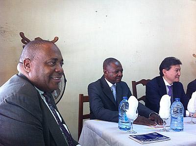 Meeting at Yaoundé Chess Club
