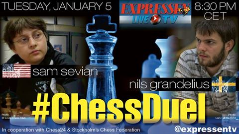 Chess Duel: Sevian vs. Grandelius