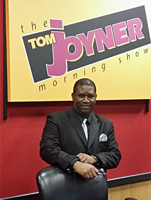 Orrin Hudson on the Tom Joyner Morning Show