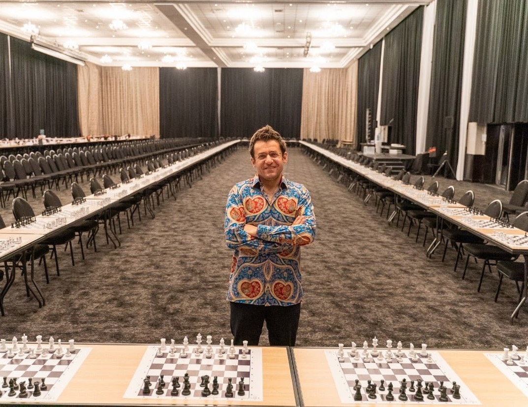 Levon Aronian against 107 in South Africa