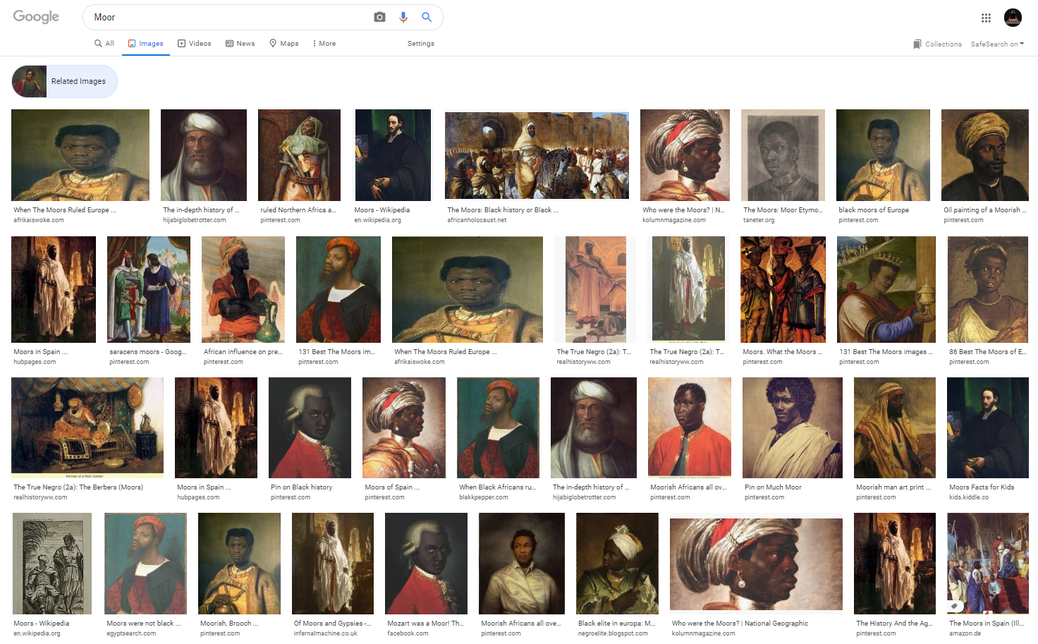 What is a Moor?