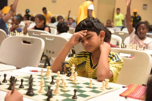 Under 10 Champion Ronak Shergill of Porter Center for Knowledge, ponders his next move