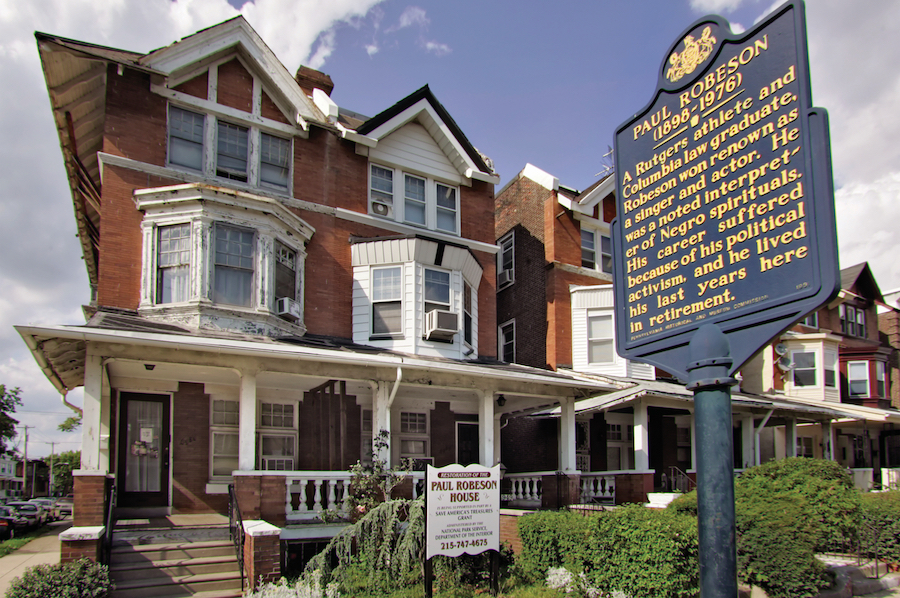 Robeson House in West Philadelphia
