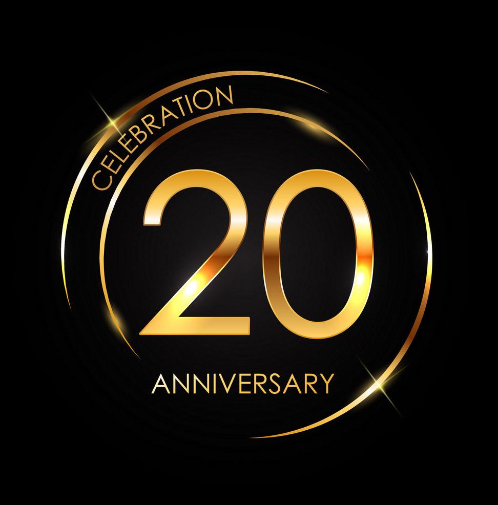 20th year anniversary!
