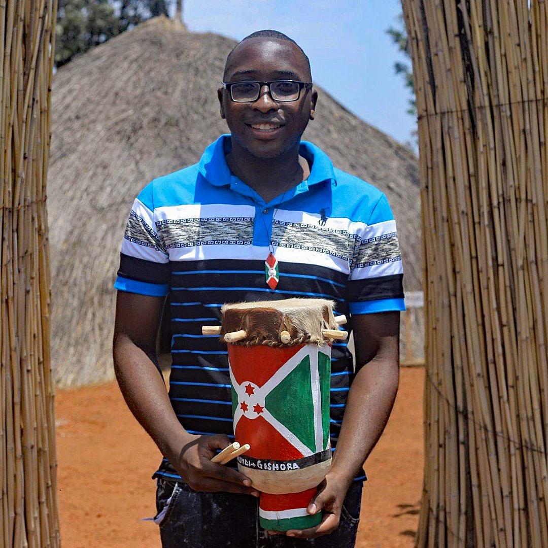 Wilfried Ntamatungiro. Photo courtesy of Burundi Chess Federation
