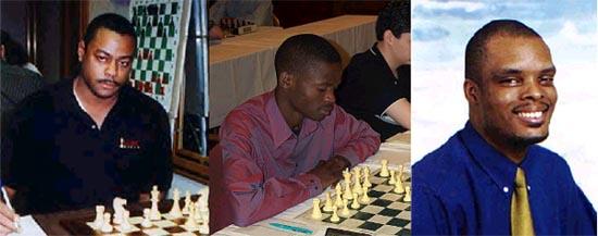 FM William Morrison (USA), IM Amon Simutowe (Zambia), IM Kevin Denny (Barbados)