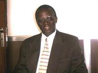 Daniel Nsibambi, President, Uganda Chess Federation.