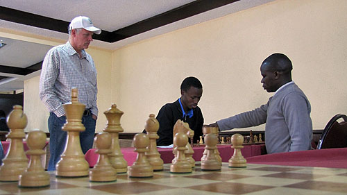 Peter Gilruth is fascinated by the shenanigans in the Akello - Ouma game.