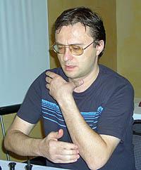 GM Slim Belkhodja (Tunisia/France). Copyright © 2005, Zambian Chess Federation.