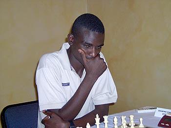 Stanley Chumfwa (Zambia) Copyright © 2005, Zambian Chess Federation.