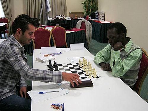 GM Ahmed Adly (Egypt) vs. Rodwell Makoto (Zimbabwe)