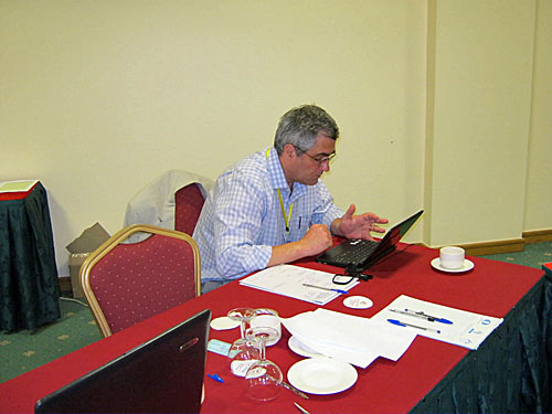 International Arbiter Carlos Oliveira Dias