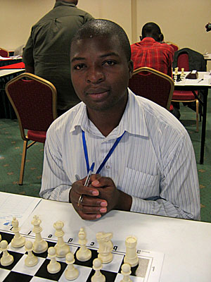 FM Daniel Jere of Zambia upset defending champion GM Bassem Amin of Egypt.