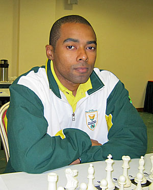 South Africa's IM Kenny Solomon
