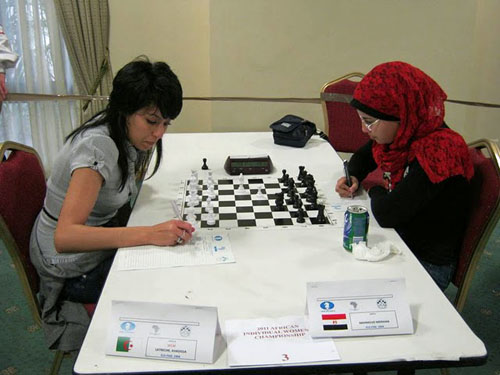 Khadidja Latreche (Algeria) vs. Merihan Mahmoud (Egypt)