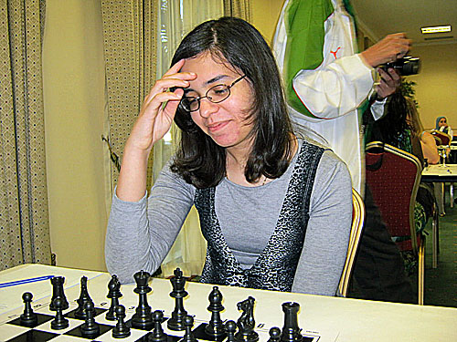 WGM Mona Khaled, 2011 African Women's Champion