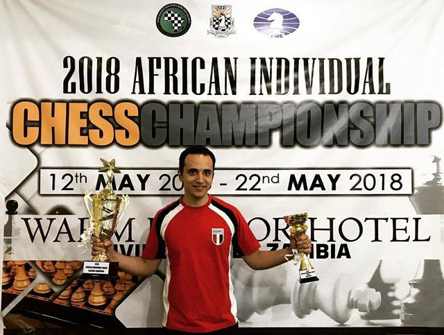 GM Bassem Amin, 2018 African Champion