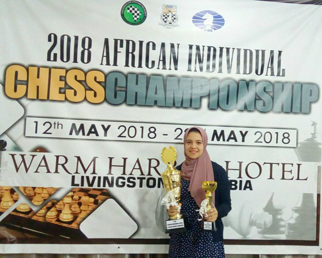 WGM Shahenda Wafa, 2018 African Women's Champion