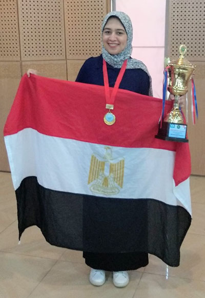 Shrook Wafa, 2019 African Women's Champion