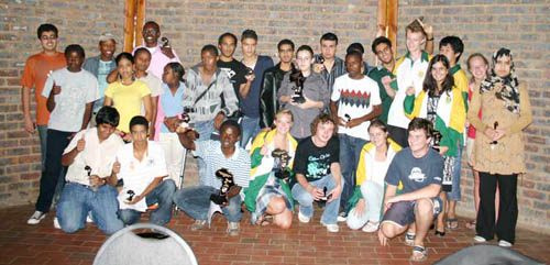 Participants of 2008 African Junior Championships